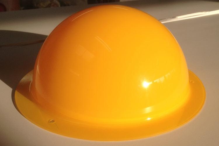Glaslackierung Abdeckung orange