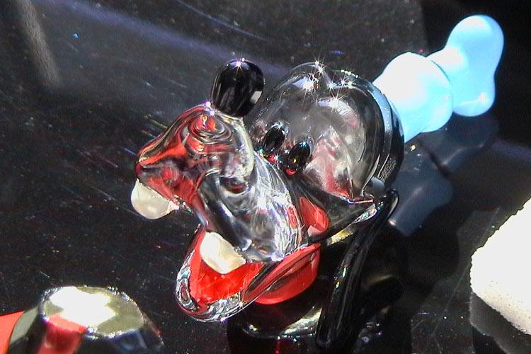 Glaslackierung Transluzent Figur