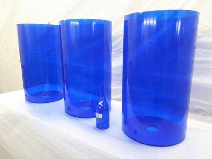 Lackierung Glasbehälter